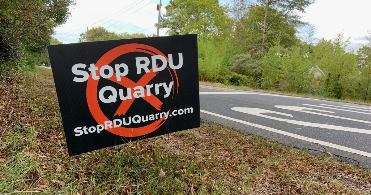 Stop the RDUQuarry!